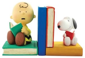 Peanuts-Charlie-Brown-and-Snoopy-Bookends1