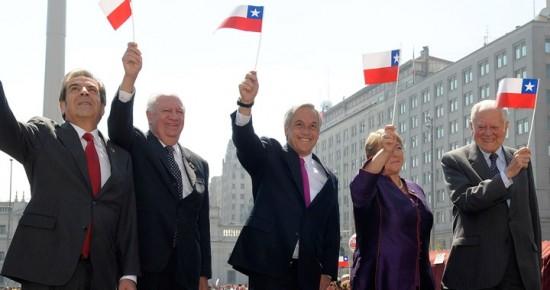 presidentes-de-Chile-juntos