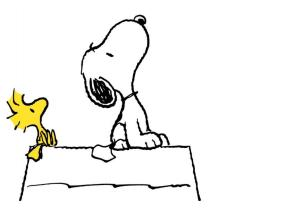 Snoopy and Woodstock 1
