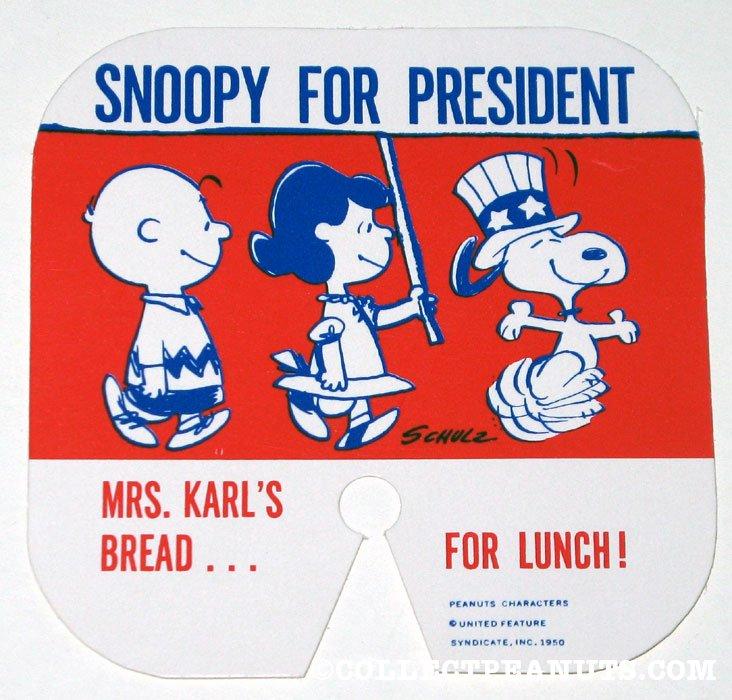 snoopy presidente