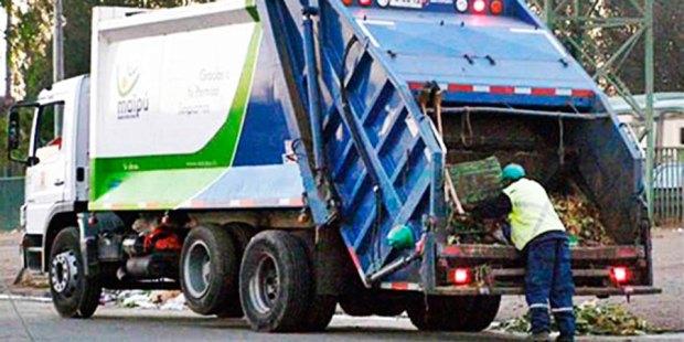 camión basura meipu