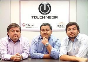Mario Acosta, Steve Rogers y Ricardo Celis
