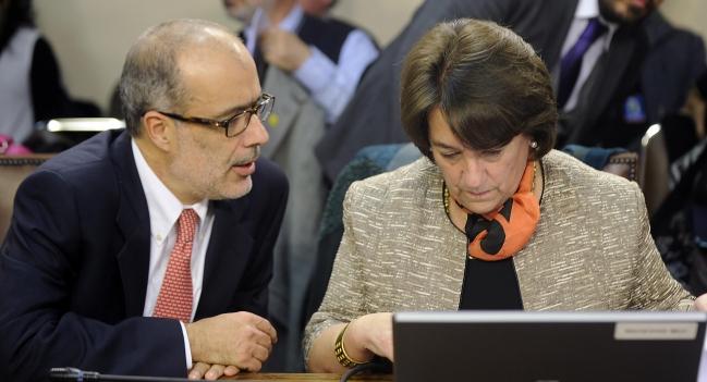 Ministro Valdes y Ministra Delpiano