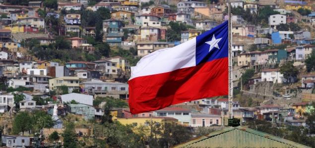 Chile, Región de Valparaíso, Valparaíso, centro histórico declarado Patrimonio de la Humanidad por la UNESCO, el barrio residencial en las colinas Chile, Valparaiso Region, Valparaiso, historic district listed as World Heritage by UNESCO, suburban neighbourhood on the hills